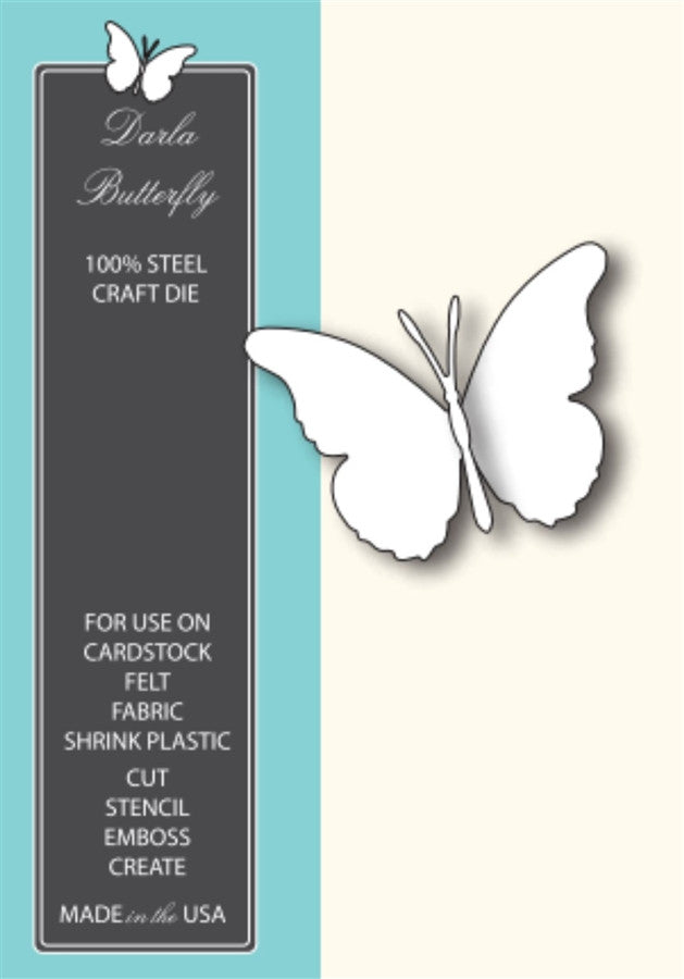 DARLA BUTTERFLY die by MEMORY BOX 98264 - Inspiration Station Scrapbook Store & Retreat