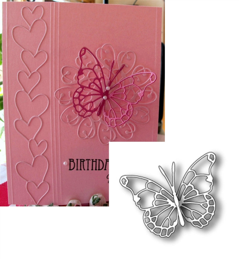 VIVIENNE BUTTERFLY die by MEMORY BOX 98265 - Inspiration Station Scrapbook Store & Retreat