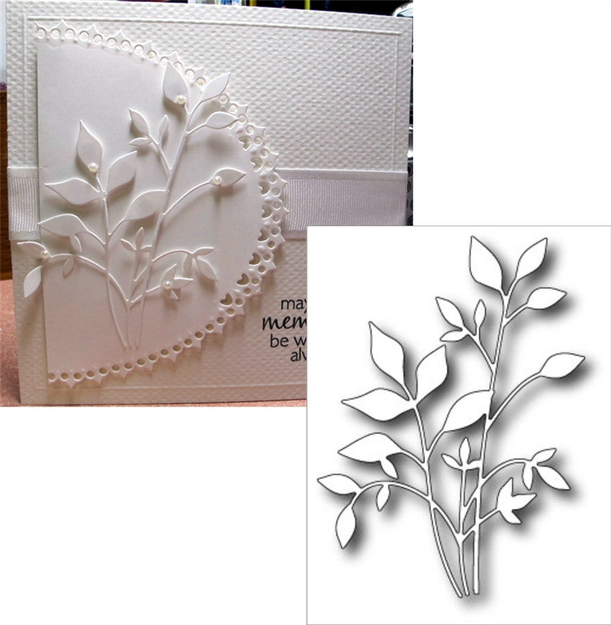 Fresh Foliage Metal Die Cut by Memory Box Dies 98502 - Inspiration Station Scrapbook Store & Retreat
