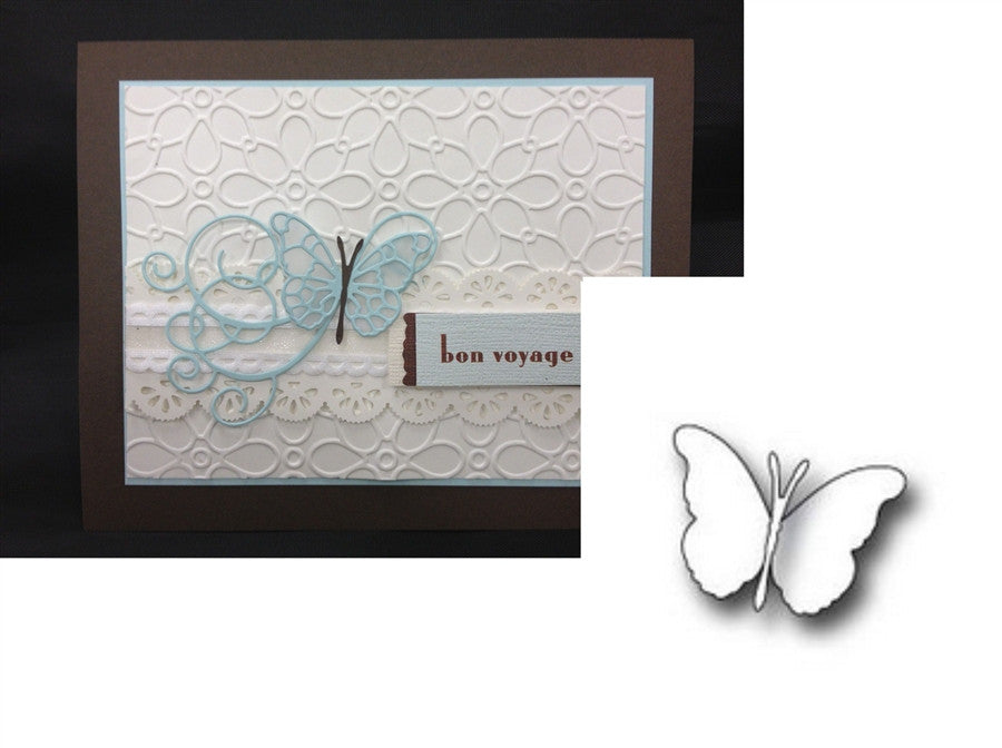 ISABELLA BUTTERFLY die by MEMORY BOX 98507 - Inspiration Station Scrapbook Store & Retreat