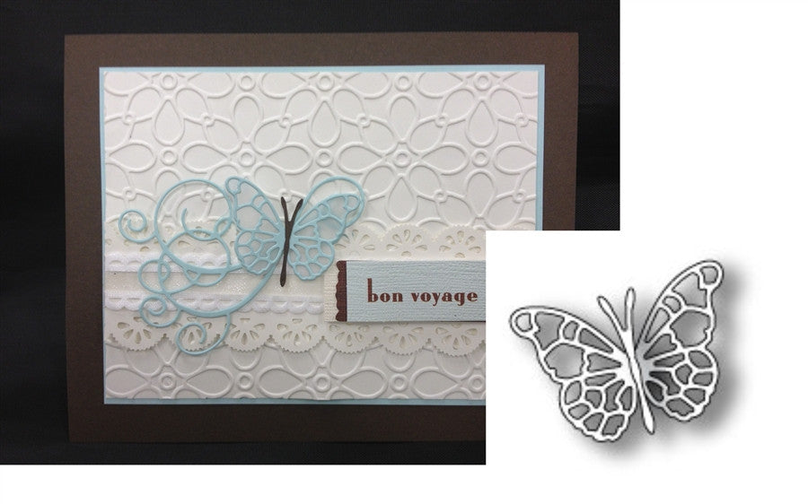 PIPPI BUTTERFLY die by MEMORY BOX 98508 - Inspiration Station Scrapbook Store & Retreat