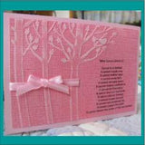 RESTING BIRDS die by MEMORY BOX 98527 - Inspiration Station Scrapbook Store & Retreat
