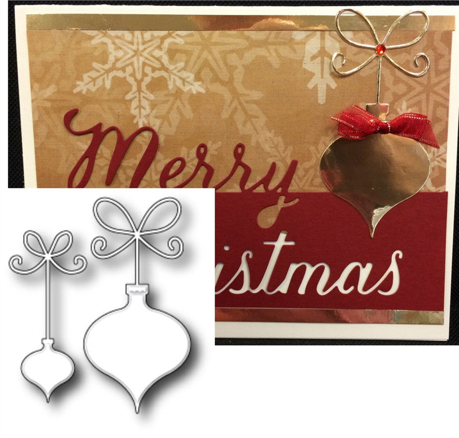 PRECIOUS ORNAMENTS Thin Metal Die by MEMORY BOX 98724 - Inspiration Station Scrapbook Store & Retreat