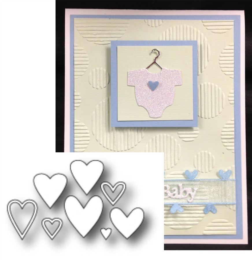 MINI HEART COLLECTION die set by MEMORY BOX 98763 - Inspiration Station Scrapbook Store & Retreat