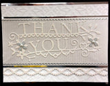THANK YOU EXTRAVAGANZA die by MEMORY BOX 98787 - Inspiration Station Scrapbook Store & Retreat