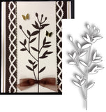 LARGE OLIVE BRANCH die by MEMORY BOX 98797 - Inspiration Station Scrapbook Store & Retreat