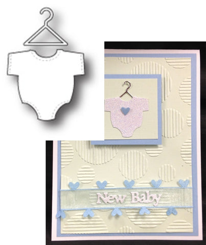 BABY SUIT Die by MEMORY BOX 98871 - Inspiration Station Scrapbook Store & Retreat