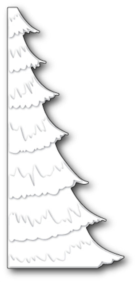SNOWY TREE BORDER by MEMORY BOX Metal Die 99001 - Inspiration Station Scrapbook Store & Retreat