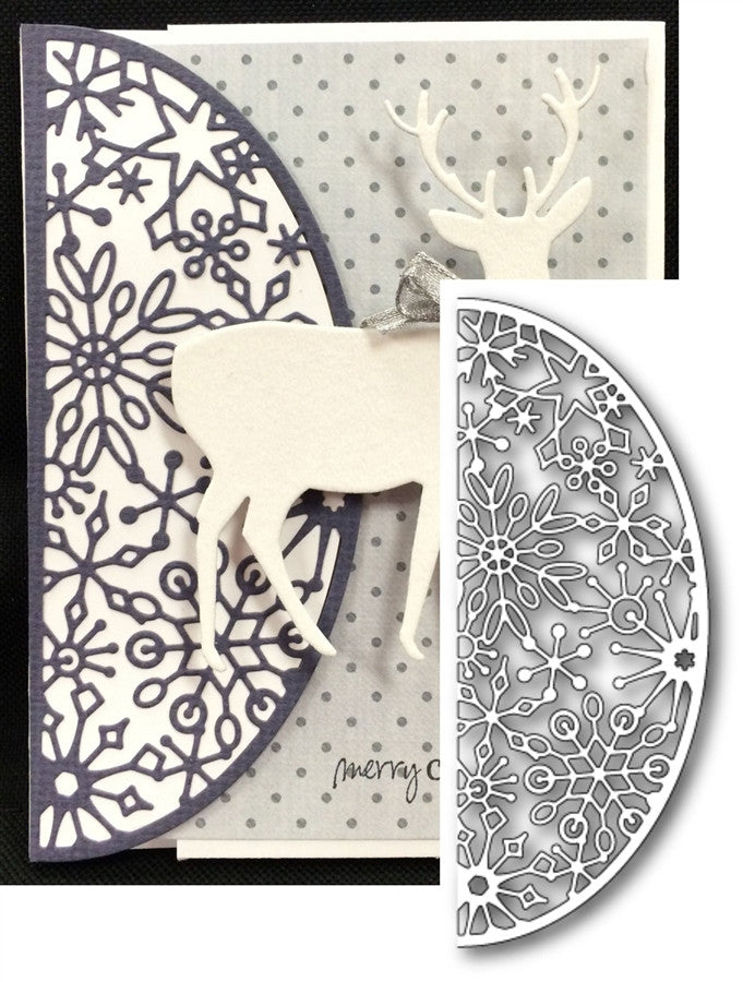 SNOWFLAKE ARCH die by MEMORY BOX 99021 - Inspiration Station Scrapbook Store & Retreat
