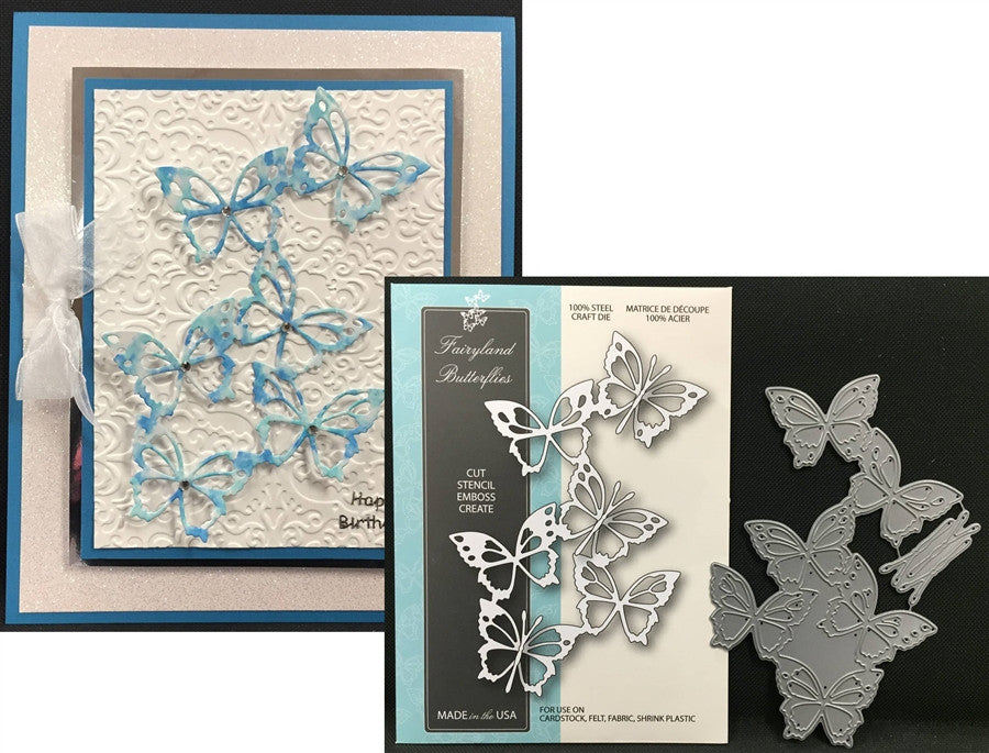 FAIRYLAND BUTTERFLIES die by MEMORY BOX 99078 - Inspiration Station Scrapbook Store & Retreat