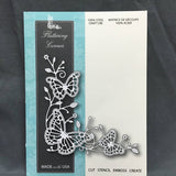 FLUTTERING CORNER die by MEMORY BOX 99094 - Inspiration Station Scrapbook Store & Retreat