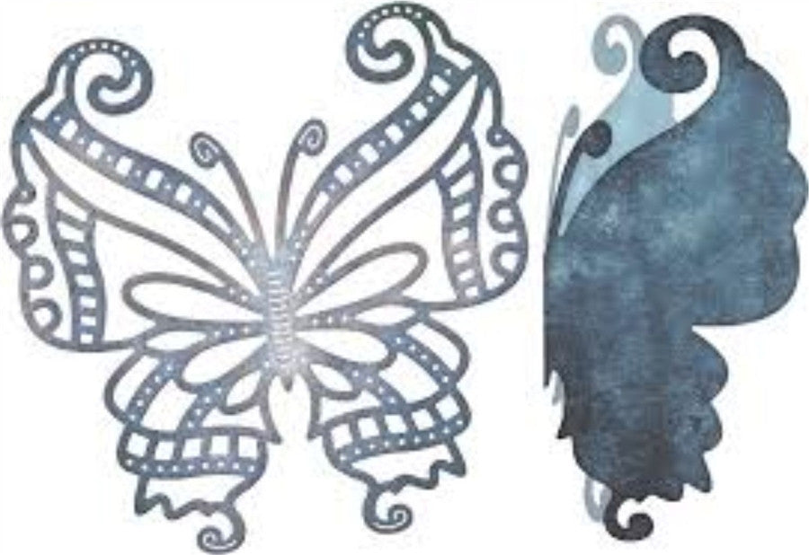 MAYAN BUTTERFLY W ANGEL WING Die by CHEERY LYNN DESIGNS B533 - Inspiration Station Scrapbook Store & Retreat