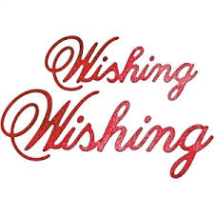 WISHING (Set of 2) Die by CHEERY LYNN DESIGNS B544 - Inspiration Station Scrapbook Store & Retreat