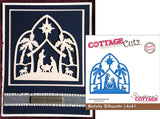 Nativity Silhouette Die Cut By Cottage Cutz - Inspiration Station Scrapbook Store & Retreat