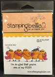 ONE OF MY PEEPS rubber cling stamp by STAMPING BELLA CGR129 - Inspiration Station Scrapbook Store & Retreat