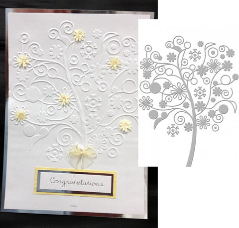 FAR AWAY TREE by COUTURE CREATIONS CO723157 Serenity Collection - Inspiration Station Scrapbook Store & Retreat