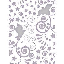 DOVE Elegant Wedding  Ltd Ed Embossing Folder by COUTURE CREATIONS - Inspiration Station Scrapbook Store & Retreat