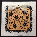 LOREN Limited Edition Leaves and Flowers Embossing Folder by Couture Creations - Inspiration Station Scrapbook Store & Retreat