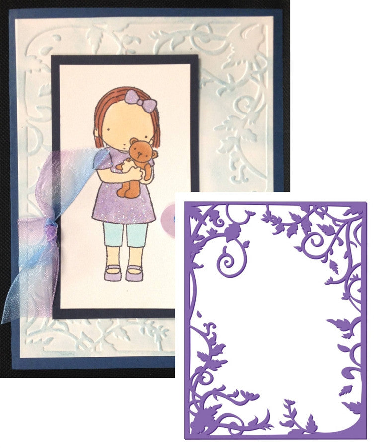 Vine Frame Limited Edition Embossing Folder By Couture