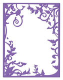 VINE FRAME Limited Edition Embossing Folder by COUTURE CREATIONS - Inspiration Station Scrapbook Store & Retreat