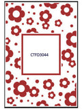 FLOWERS FRAME Embossing Folder by CRAFTS TOO CTFD3044 - Inspiration Station Scrapbook Store & Retreat