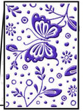 SPRING embossing folder by CRAFTS TOO CTFD3046 - Inspiration Station Scrapbook Store & Retreat