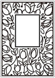 TULIP WINDOW embossing folder by CRAFTS TOO CTFD3051 - Inspiration Station Scrapbook Store & Retreat