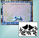 TWEET TWEET embossing folder by CRAFTS TOO CTFD4017 - Inspiration Station Scrapbook Store & Retreat