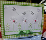 SPRING GARDEN embossing folder by CRAFTS TOO CTFD4023 - Inspiration Station Scrapbook Store & Retreat