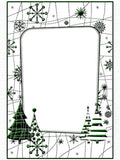SNOW TREE embossing folder by CRAFTS TOO CTFD4027 - Inspiration Station Scrapbook Store & Retreat