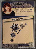 SNOWFLAKES by TATTERED LACE Metal Die Cut D111 - Inspiration Station Scrapbook Store & Retreat