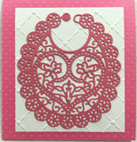 BIB Steel Die-cut by TATTERED LACE D562 - Inspiration Station Scrapbook Store & Retreat