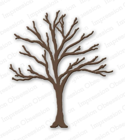 Bare Tree Metal Die Cut by Impression Obsession - Inspiration Station Scrapbook Store & Retreat