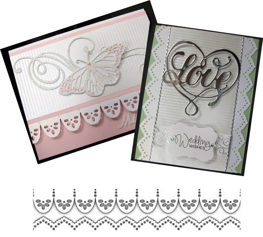 Border Duo 1 Metal Die Cut by Impression Obsession - Inspiration Station Scrapbook Store & Retreat