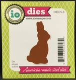 CHOCOLATE BUNNY Metal Die by IMPRESSION OBSESSION DIE075-B - Inspiration Station Scrapbook Store & Retreat