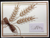 Wheat Metal Die Cut by Impression Obsession - Inspiration Station Scrapbook Store & Retreat