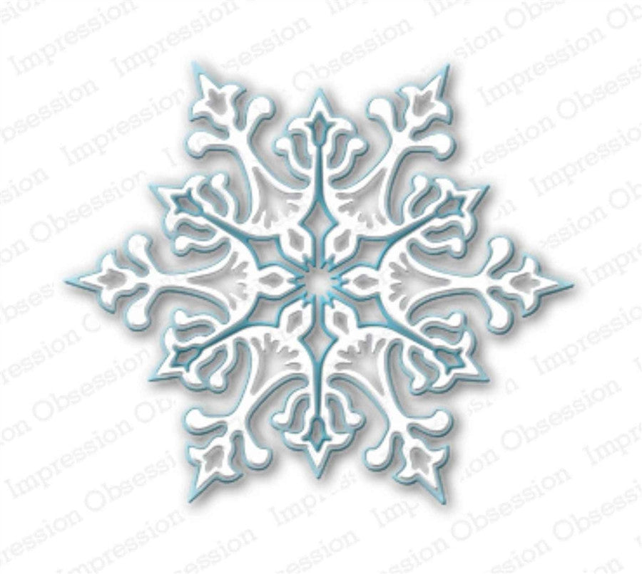 Large Snowflake Metal Die Cut by Impression Obsession - Inspiration Station Scrapbook Store & Retreat