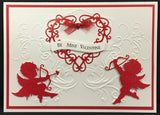 CUPIDS die by IMPRESSION OBSESSION DIE125-M - Inspiration Station Scrapbook Store & Retreat