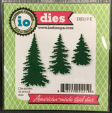 EVERGREEN TREES die set by IMPRESSION OBSESSION DIE217-E - Inspiration Station Scrapbook Store & Retreat