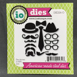 RETRO MASCULINE Die Set by IMPRESSION OBSESSION DIE224-O - Inspiration Station Scrapbook Store & Retreat