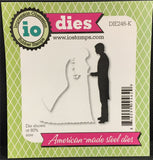 BRIDE AND GROOM Die Set by IMPRESSION OBSESSION DIE246-K - Inspiration Station Scrapbook Store & Retreat