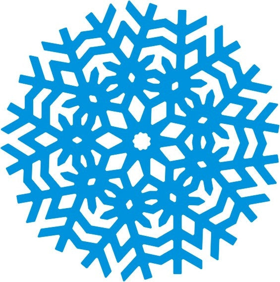 Geometric Snowflake Die Cut by Cheery Lynn Designs - Inspiration Station Scrapbook Store & Retreat