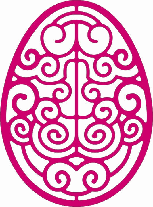Lace Egg Four Die Cut by Cheery Lynn Designs - Inspiration Station Scrapbook Store & Retreat