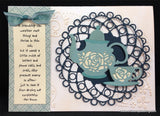 Dianza with Angel Wing Die Cut by Cheery Lynn Designs - Inspiration Station Scrapbook Store & Retreat