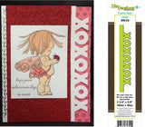 XOXO by DIE-VERSIONS Express Edges Metal Die DVE-013 - Inspiration Station Scrapbook Store & Retreat