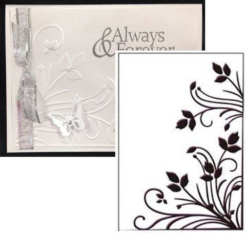 Burst of Spring Embossing Folder by Ecstasy Crafts Inc. - Inspiration Station Scrapbook Store & Retreat