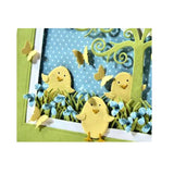 Egg & Chick Die Cut Set by Impression Obsession Dies DIE041-A - Impression Obsession Scrapbook Store & Retreat