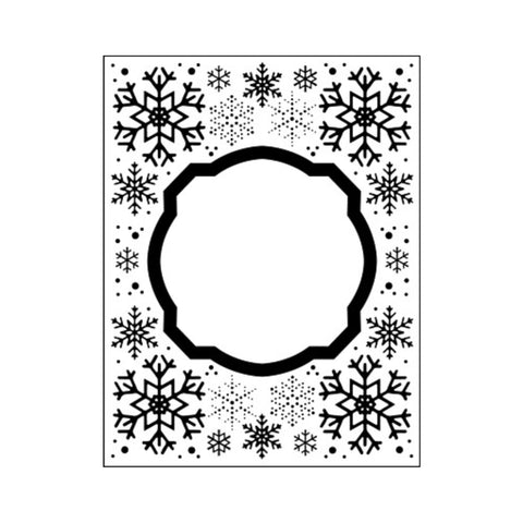 Eve's Snowflakes Embossing Folder by Creative Expressions