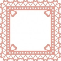 Sweetheart Frame Die Cut by Cheery Lynn Designs - Inspiration Station Scrapbook Store & Retreat