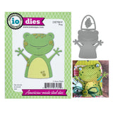 Frog Metal Die Cut Set by Impression Obsession Dies DIE788-V - Inspiration Station Scrapbook Store & Retreat
